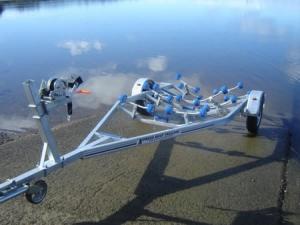NZ Quality Single Axle Boat Trailer