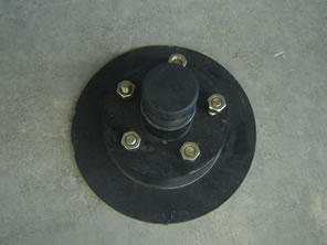 Black Brake Disk for Trailers