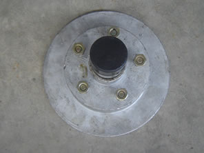 Galvanised Brake Disk for Trailers