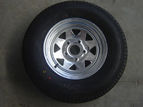 Spare Wheel Trailer Part