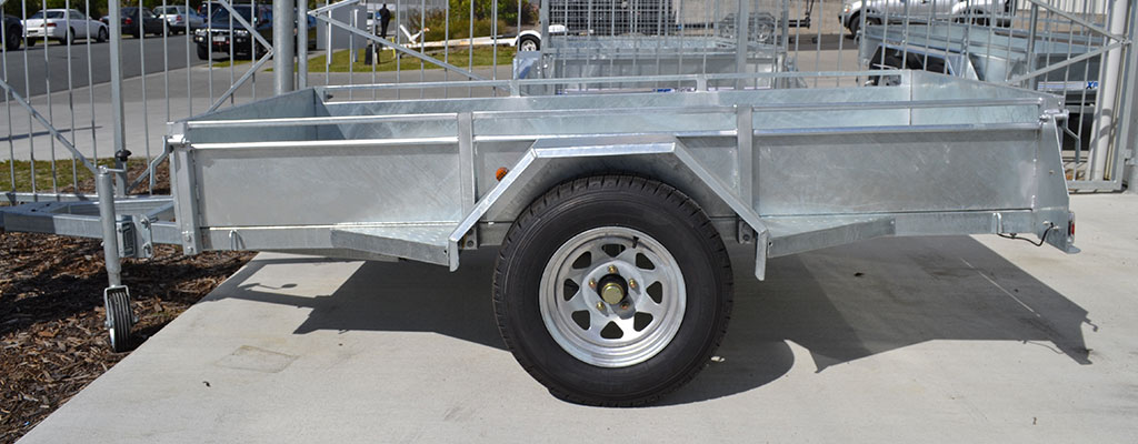 single axle car trailers for sale