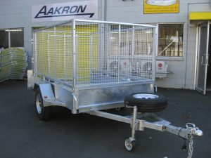8x5 Single Axle Box trailer