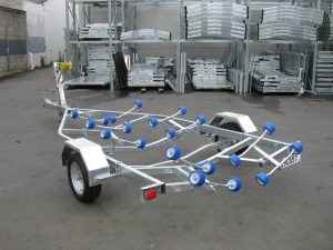 NZ Quality Single Axle Boat Trailer
