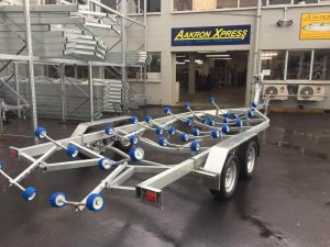 NZ Engineered Tandem Axle Boat Trailer Auckland