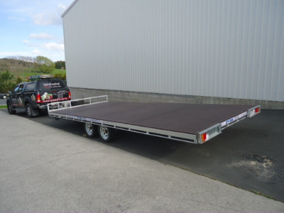 Robust Flatdeck Trailers